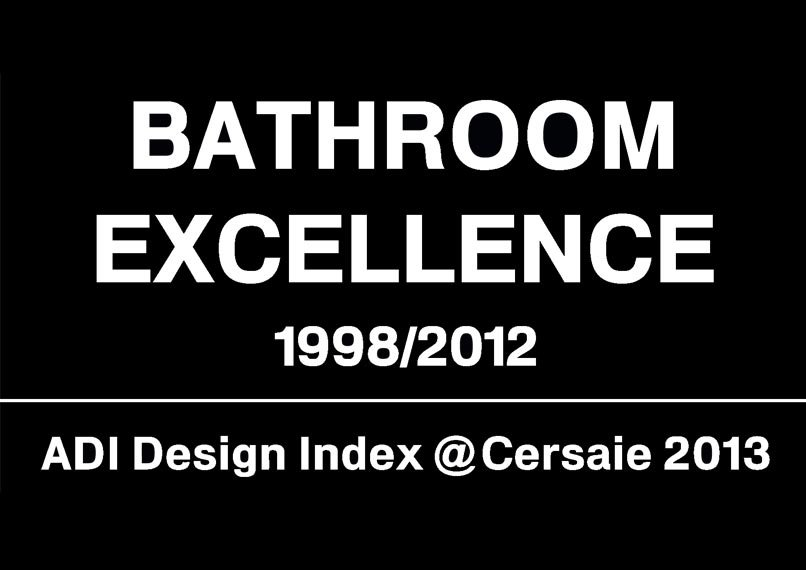 "Marazzi on show at ""Bathroom Excellence 1998-2012"""