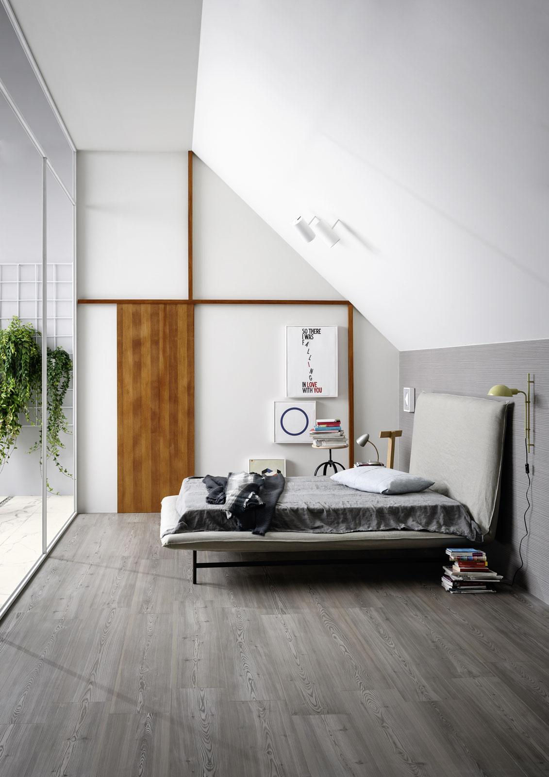 Five types of porcelain stoneware for your bedroom