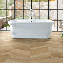 Treverksoul, the wood-effect porcelain stoneware with the charm of antique parquet