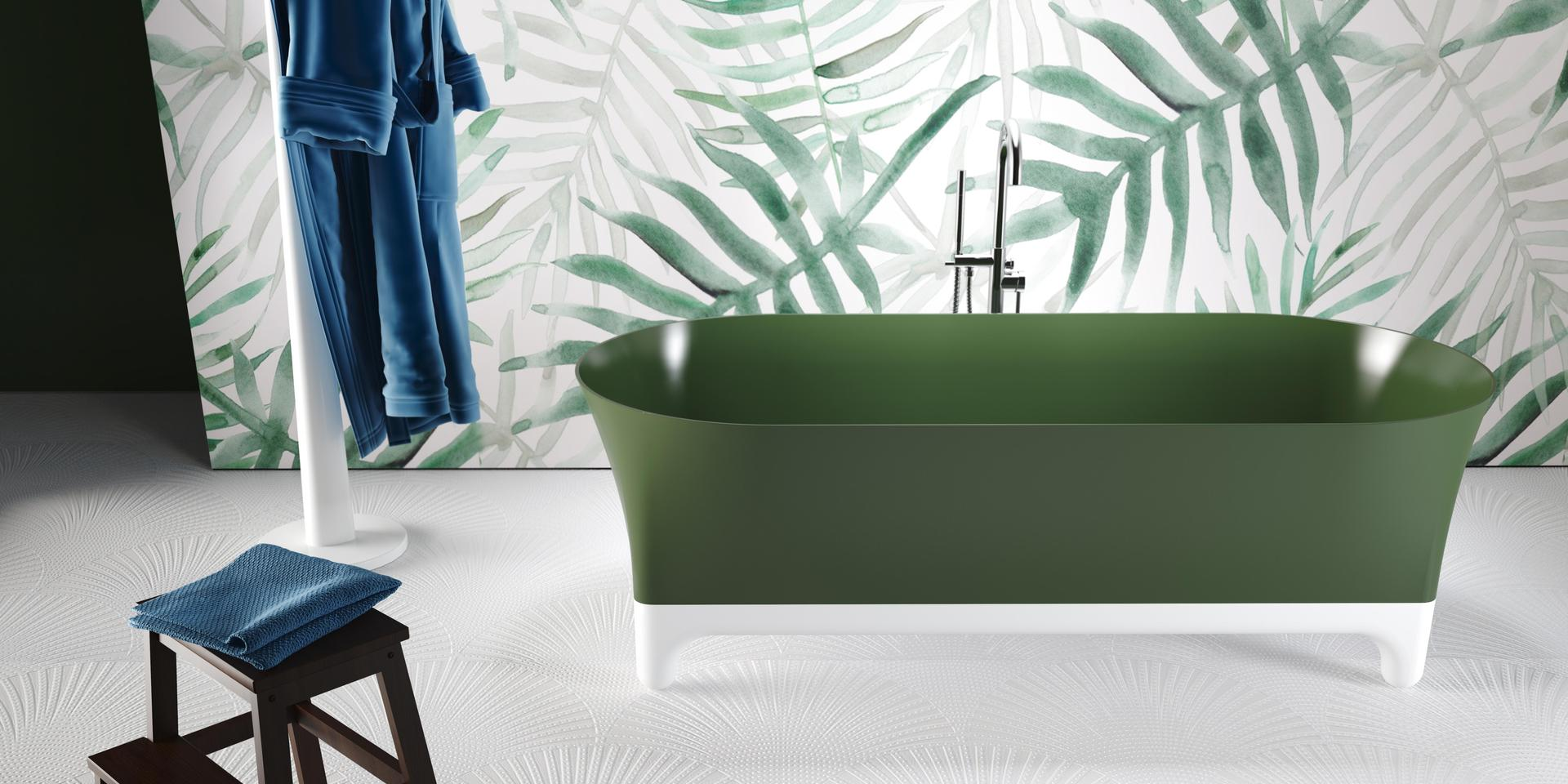 Luca Papini, freestanding bath tub Margot by Relax Design