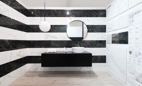 The WEBLOG bloggers visit the Marazzi showroom