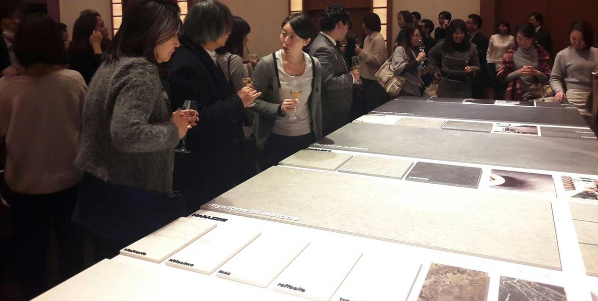 Marazzi in Tokyo for a dialogue with architecture professionals