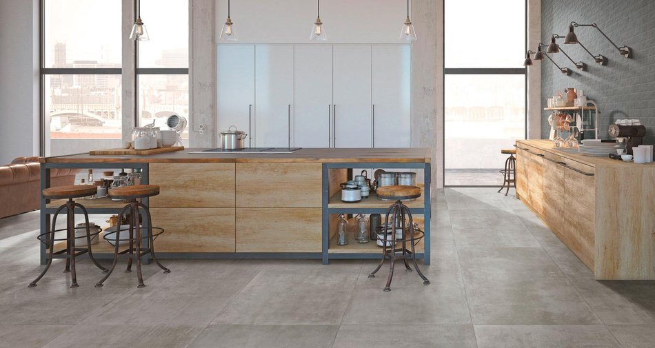 Colours and materials for designing your industrial style kitchen