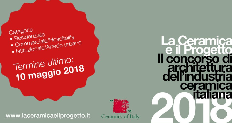 """La Ceramica e il Progetto"" 2018: the competition that showcases the best architectural projects using Italian ceramic tiles"