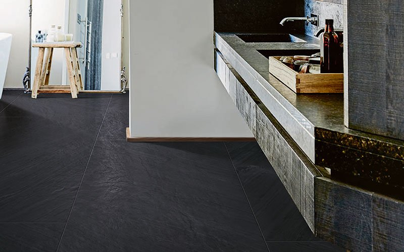 Mystone Lavagna. The allure of total black.