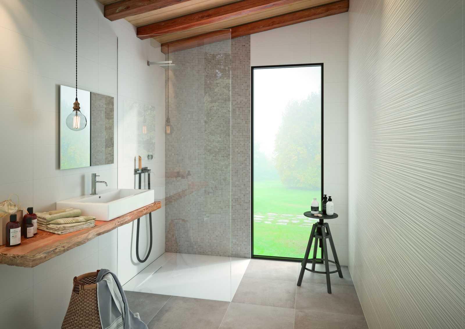 bathroom flooring ceramic and porcelain stoneware marazzi. Black Bedroom Furniture Sets. Home Design Ideas