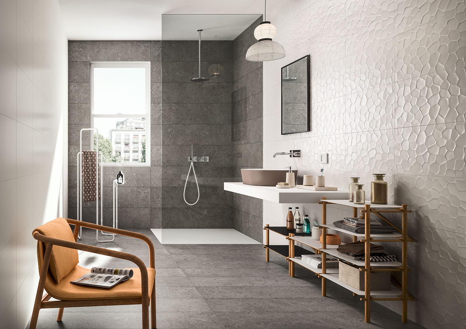 Color code minimal style wall tiles marazzi for Carrelage marazzi