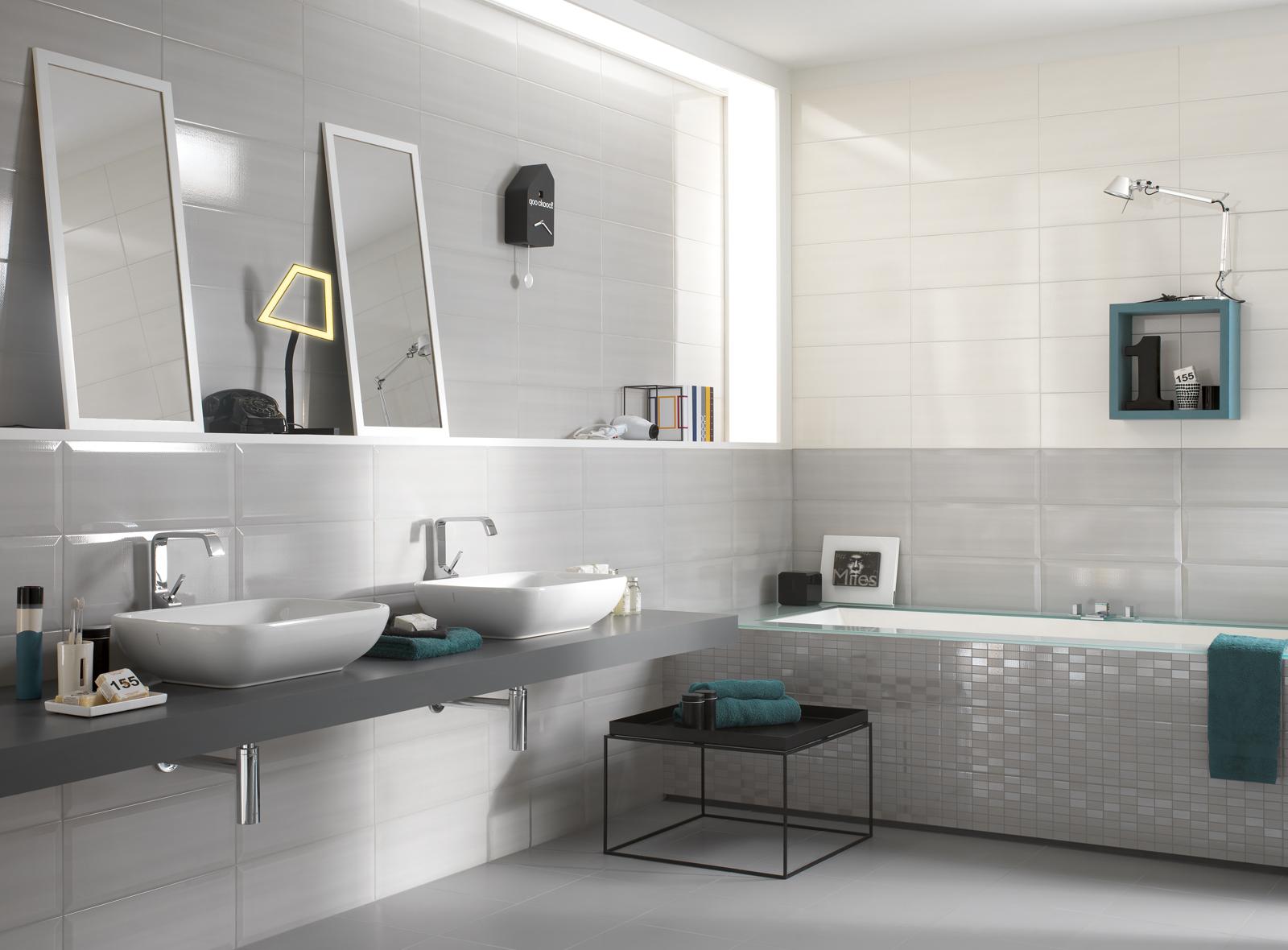 Nuance ceramic bathroom covering marazzi - Rivestimenti bagno vietri ...