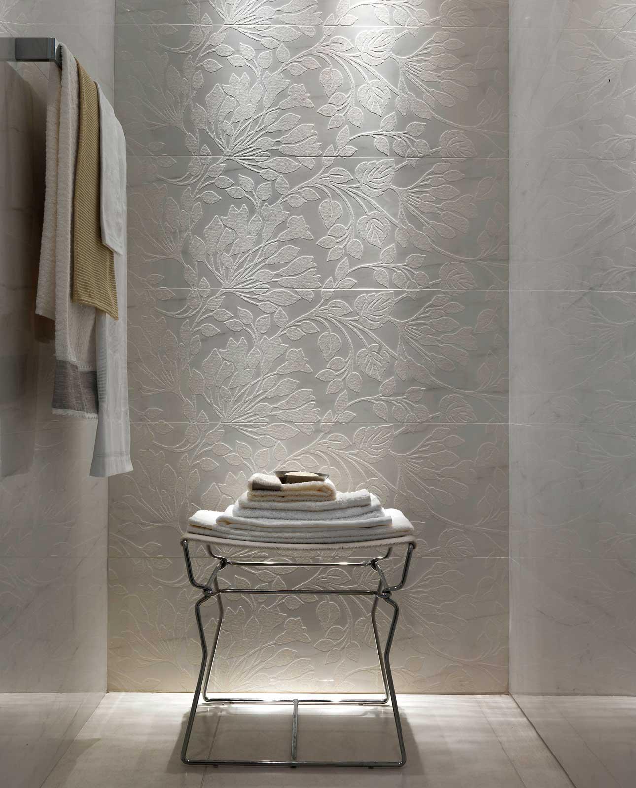 Stonevision glossy porcelain marazzi for Marazzi tile