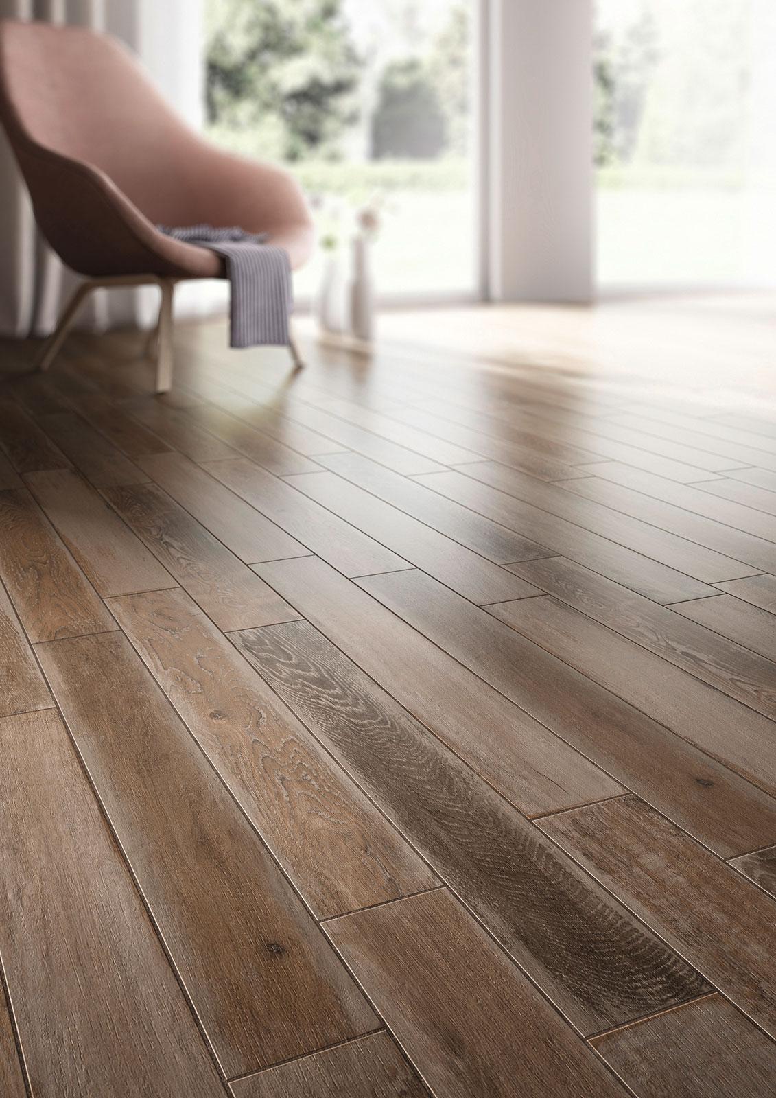 Treverkage wood effect stoneware flooring marazzi for Carrelage marazzi prix
