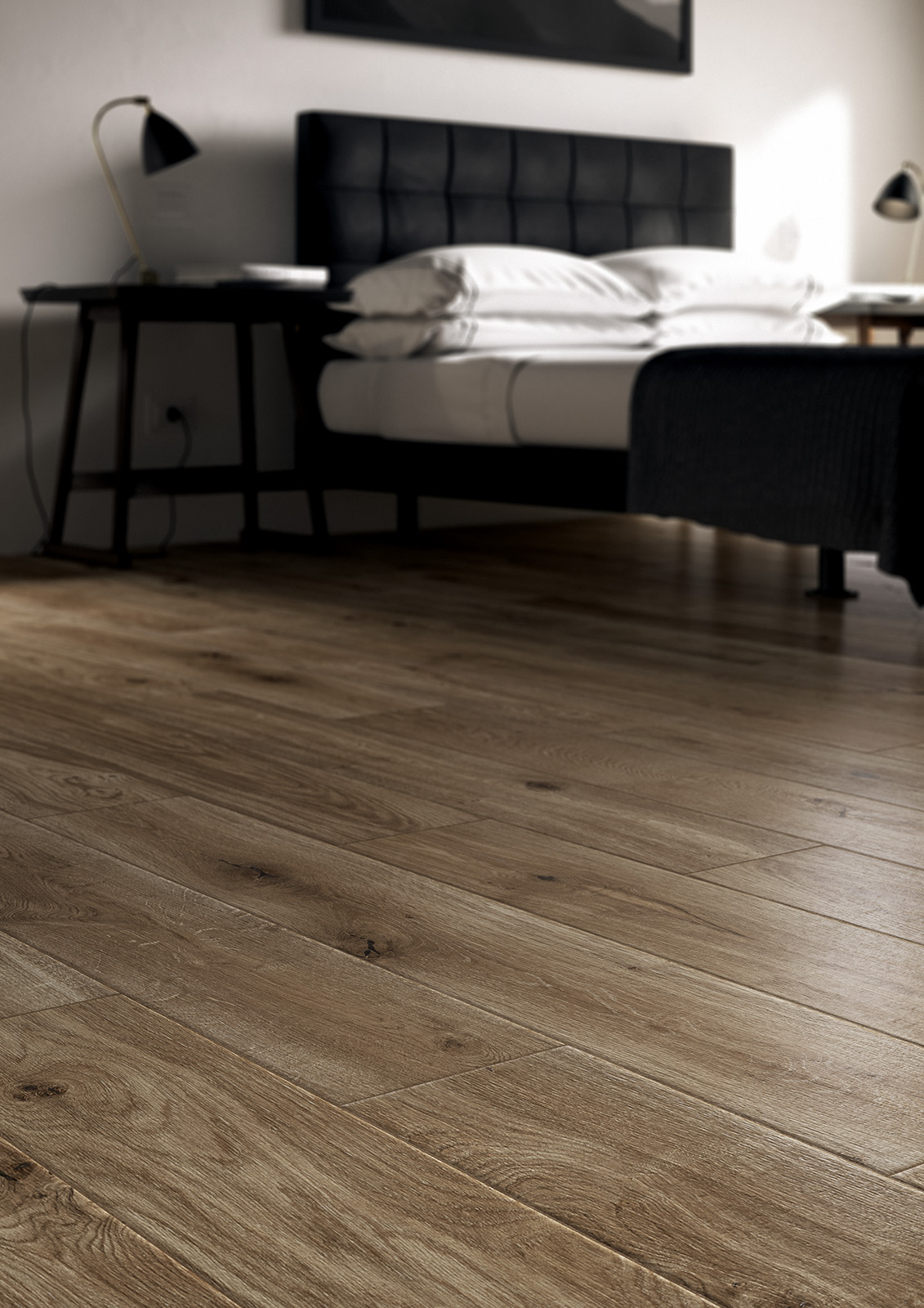 Treverkever hard wood effect stoneware flooring marazzi for Marazzi tile