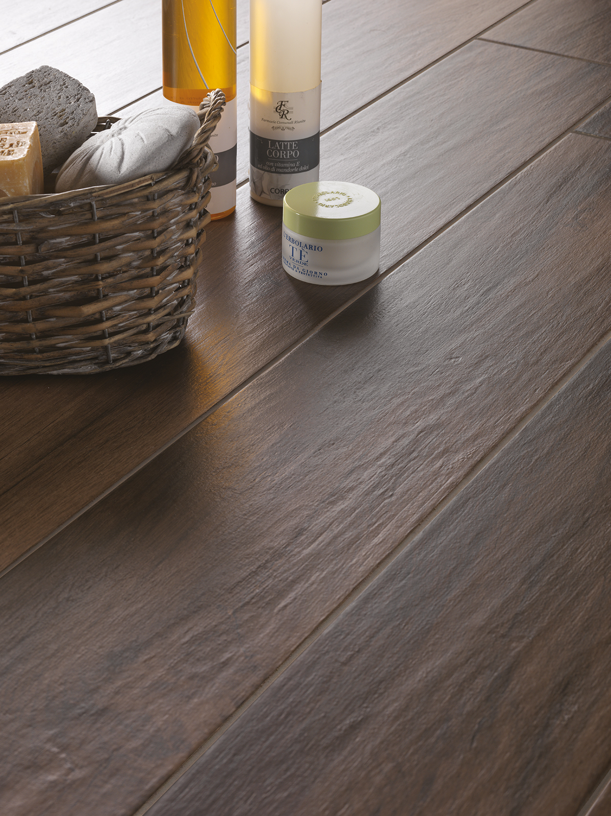 Treverkmood wood effect porcelain stoneware marazzi for Percer un carrelage en gres
