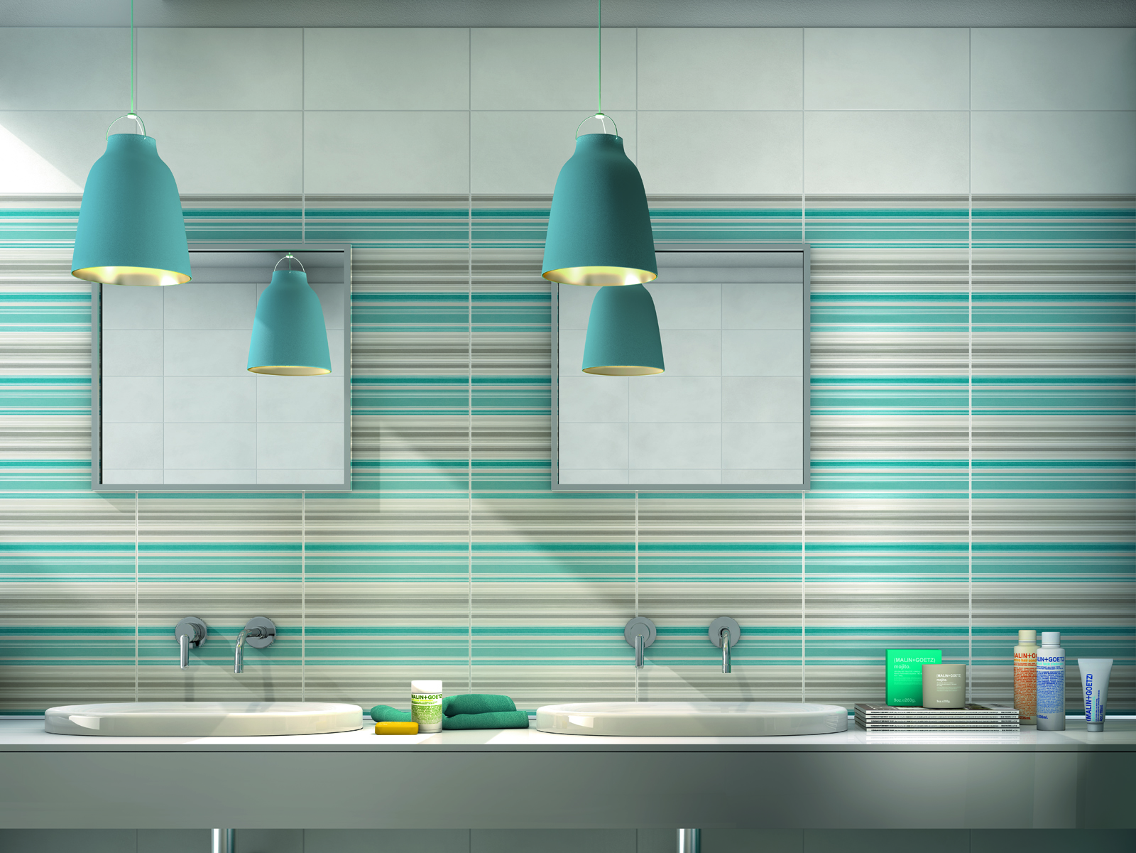 Kitchen Italia Covent Garden Azure Tiles View The Collections Marazzi