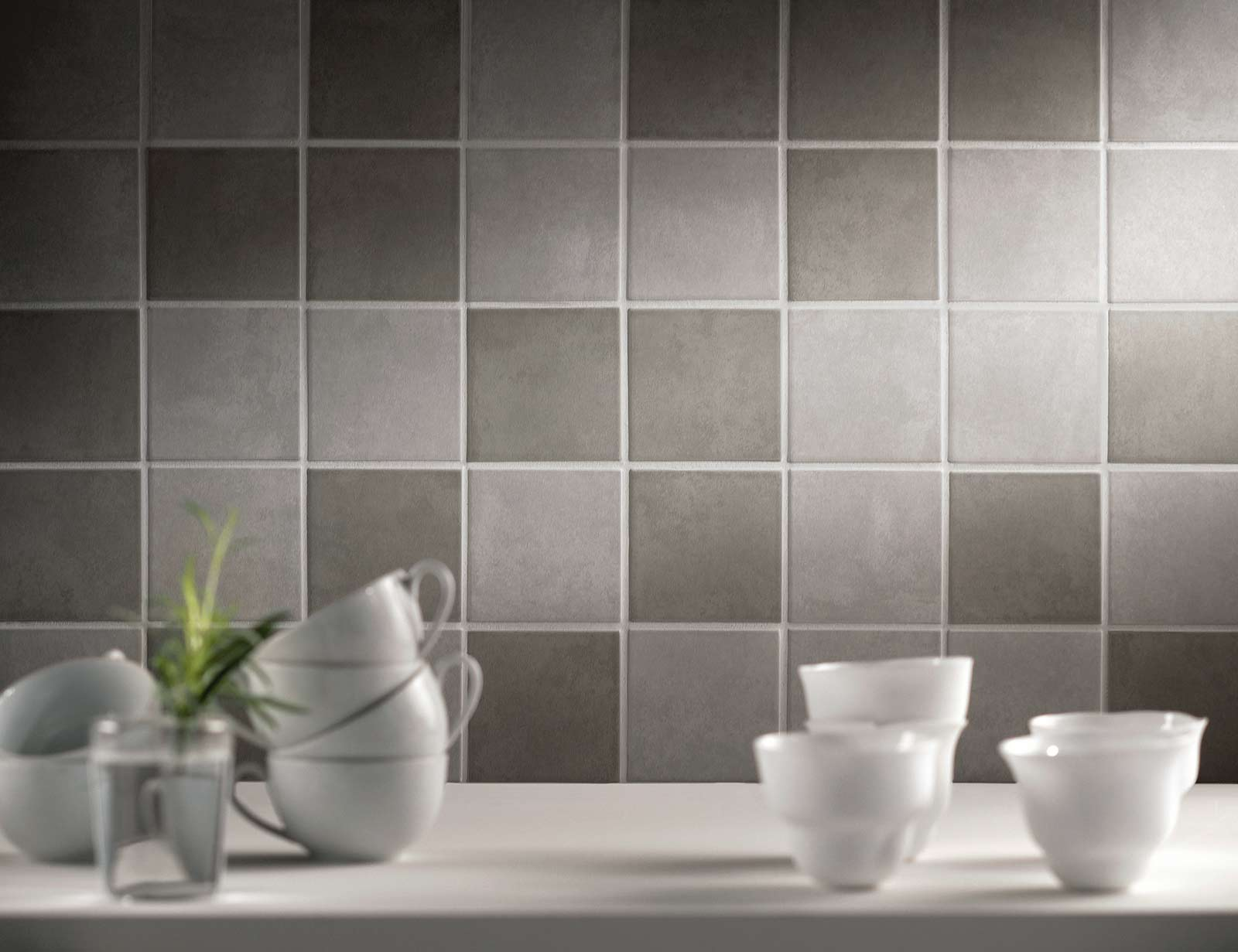Progress natural effect porcelain stoneware marazzi - Piastrelle 10x10 bagno ...