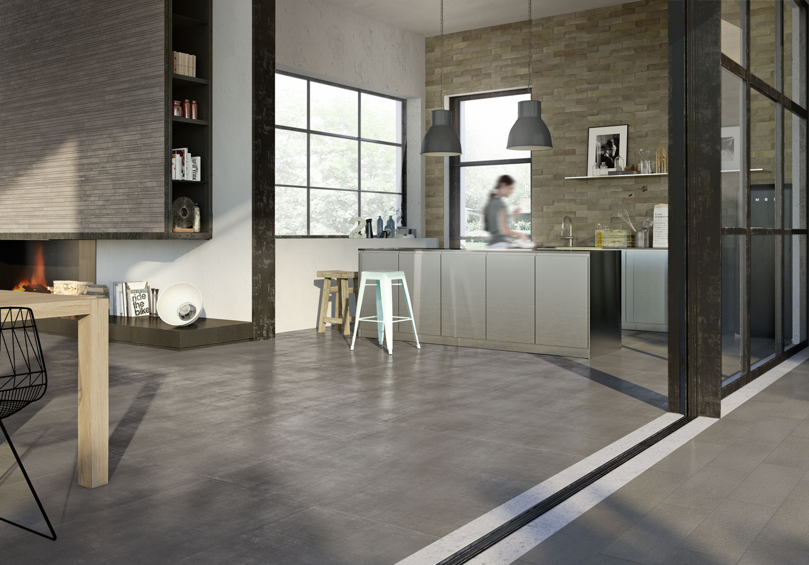 What Colour Tiles Go With Grey Kitchen