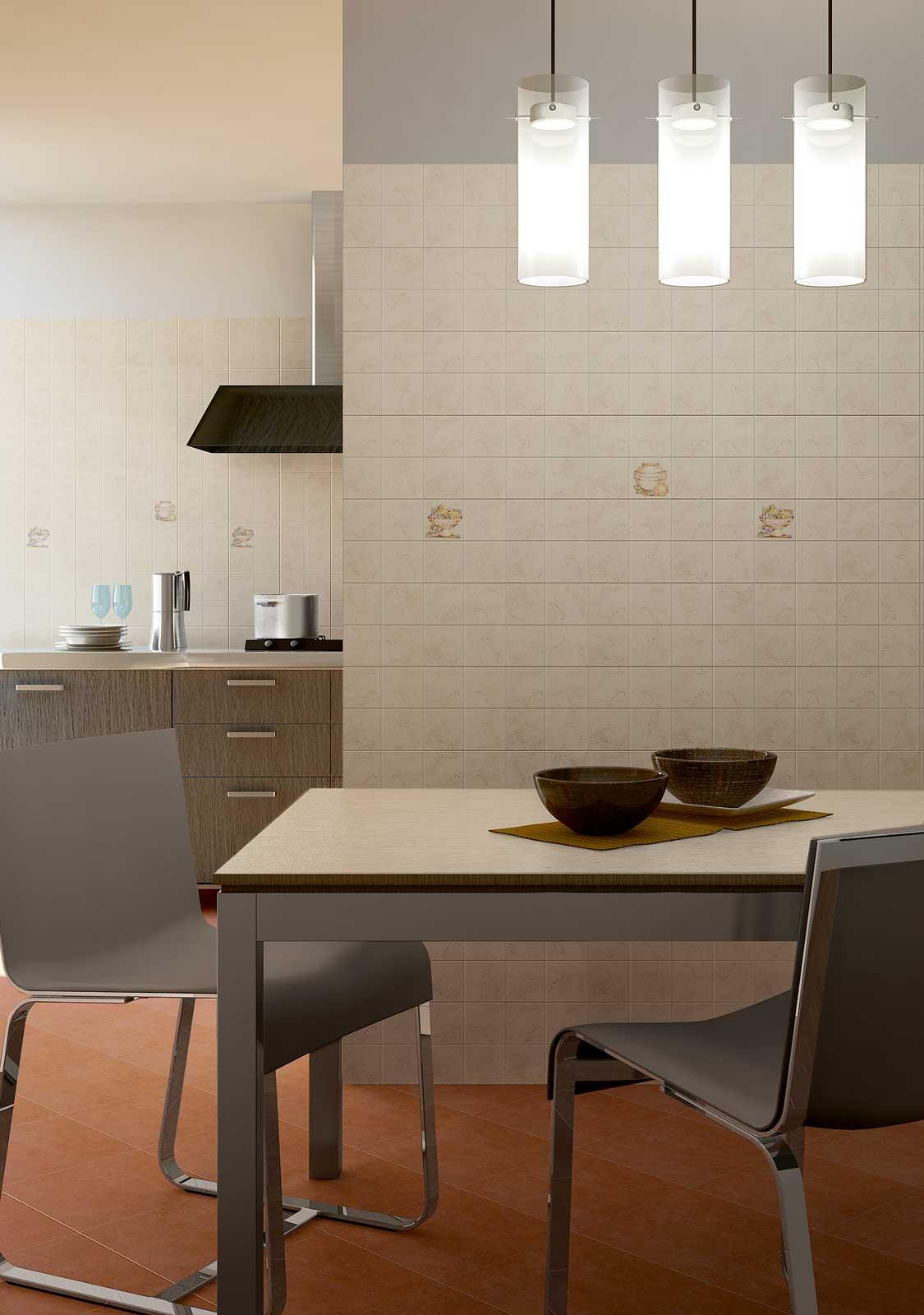 Piastrelle cucina design top piastrelle per pavimento for Piastrelle bianche adesive