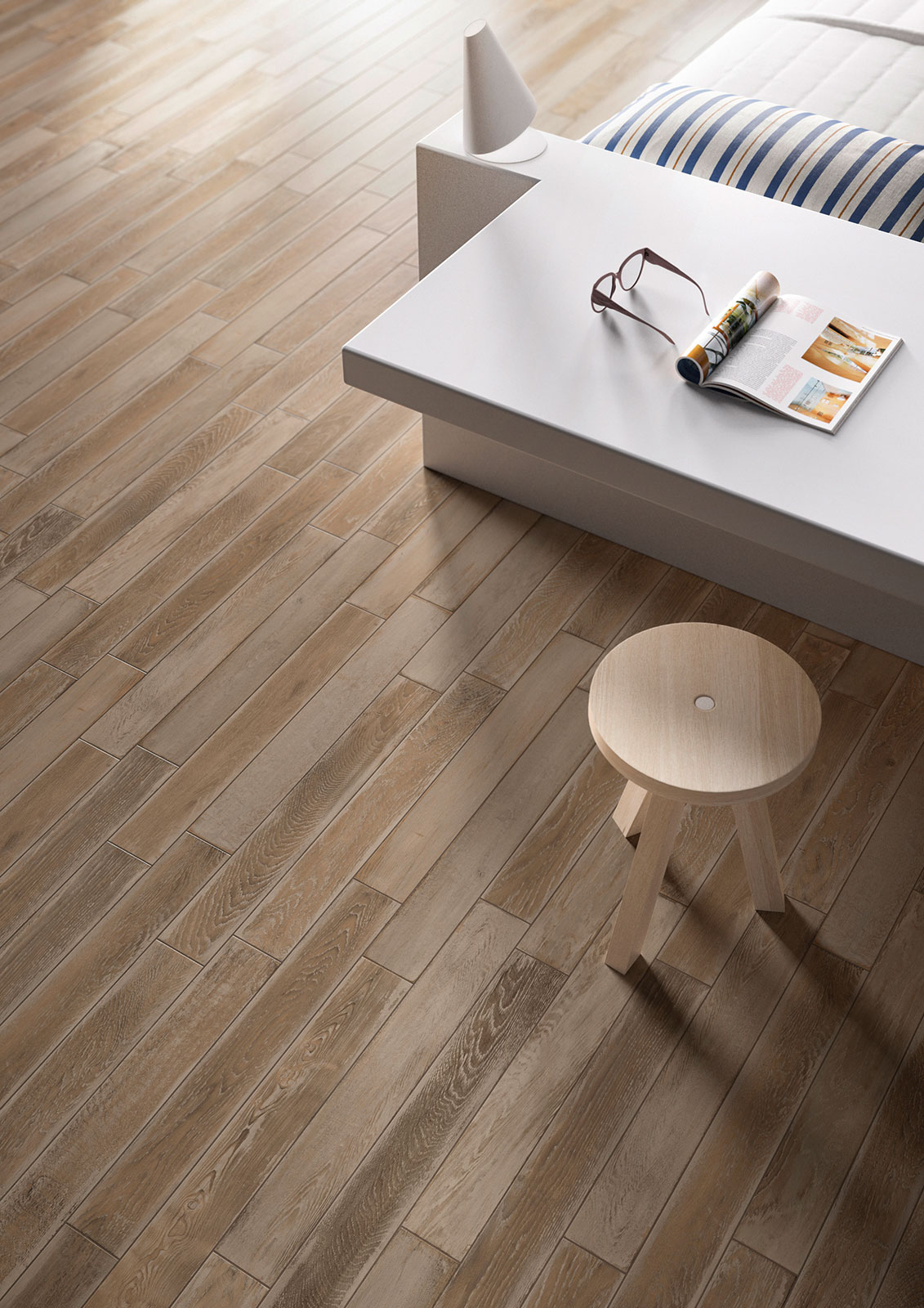 Treverkage wood effect stoneware flooring marazzi - Things to know when choosing ceramic tiles for your home ...