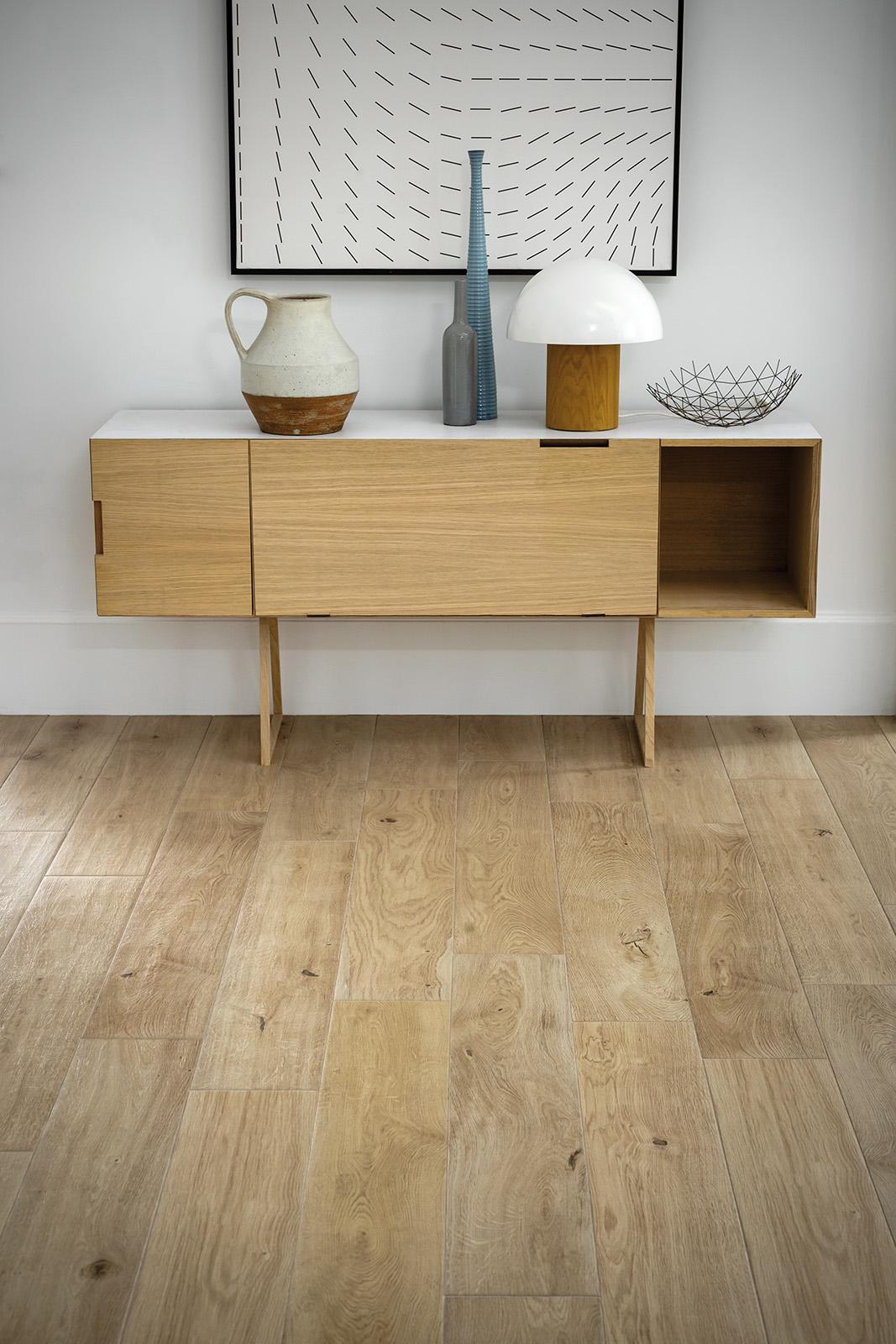 Treverkever hard wood effect stoneware flooring marazzi - Fliesen marazzi ...