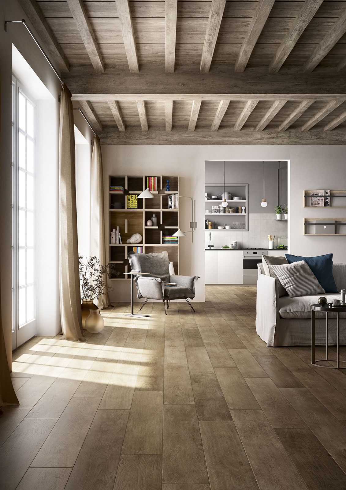 Treverktime Wood Effect Stoneware Floors Marazzi