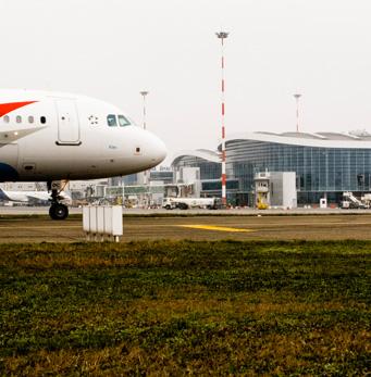 Henri Coanda International Airport, Romania - gres cristallizzato